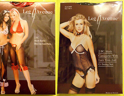 LOT OF 2 Leg Avenue Lingerie Sets, M-L