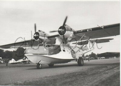 PHOTO argentique hydravion Consolidated PBY Catalina - Robert J. RUDHALL