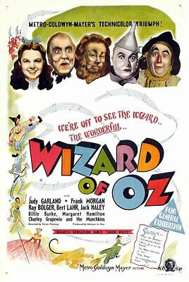 "The Wizard of Oz Movie Mini Poster 4"" x 6"" Fridge Magnet Glossy Photo Quality"