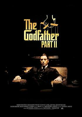 "The Godfather Part II Movie Mini Poster 4"" x 6""  Fridge Magnet Glossy Photo"