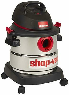 Shop-Vac 5989300 5-Gallon 4.5 Peak HP Stainless Steel Wet Dry Vacuum New