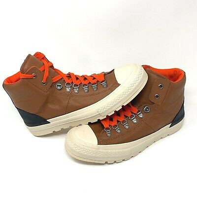 9ae1ba288a316b Converse Chuck Taylor All Star Street Hiker Hi Top Brown White  149384C   Size 11