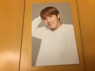 BTS J-HOPE [ VT Think Your Teeth Official Photocard Black & White ] NEW/ +GFT