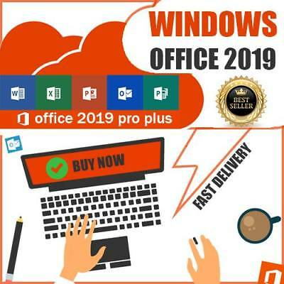 Microsoft Office 2019 Pro Plus 32/64 Digital License Key for 1PC Official Source