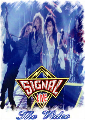 SIGNAL @LIVE '90 DVD ! King Kobra,Mark,Marcie Free,Unruly Child,Alice Cooper AOR