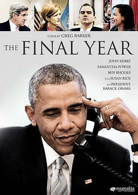 The Final Year (DVD, 2018) Obama