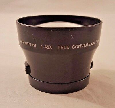Olympus 1.45X Tele Conversion Lens with 41 to 43, 43 to 46 Adapters