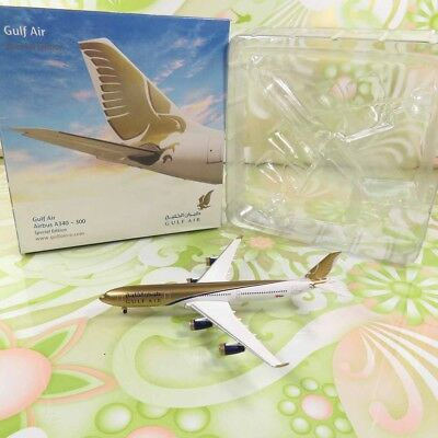 HERPA Special Edition -1:500 - Gulf Air Airbus A340-300 -OVP- #H11179