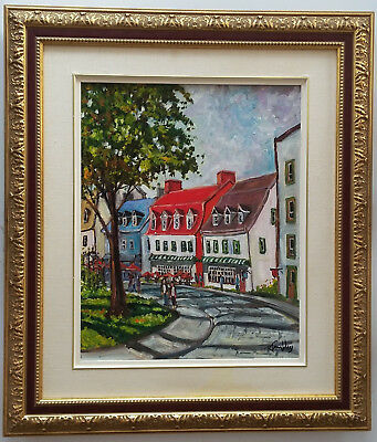 """Listed Canadian Artist -Roland Tremblay (1955 -) O/C 16""""x20"""" Signed"""