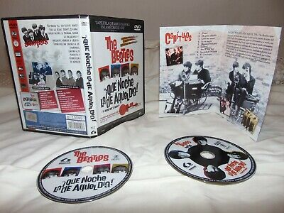 Beatles/qué noche la de aquel día / A Hard Day's Night. 2 DVDs Limited Edition