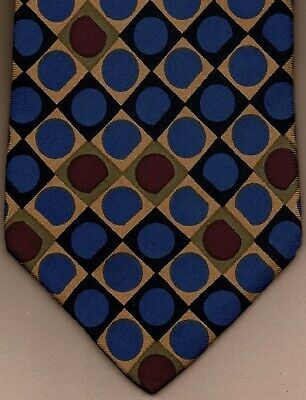 90244c046f6a BRAND NEW VALENTINO Blue/White Polka Dot Slim Tie 100% Silk NEW ...