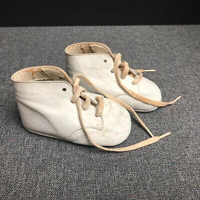 Vintage Children's/Baby Shoes White