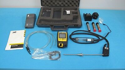 BW Technologies GasProbe Flue Gas Analyzer Portable Multi Gas Detection System
