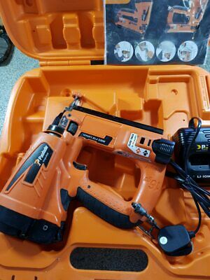 PASLODE IM65 Li F16 Li-ion CORDLESS SECOND FIX NAIL GUN KIT, FULLY SERVICED