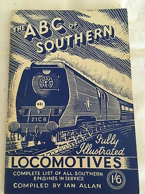 ABC of Southern Locomotives. Complete list of Southern Engines in service 1946