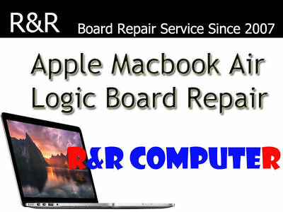 APPLE MACBOOK AIR A1465 A1466 LOGIC BOARD NO BACKLIGHT BRIGHTNESS REPAIR SERVICE