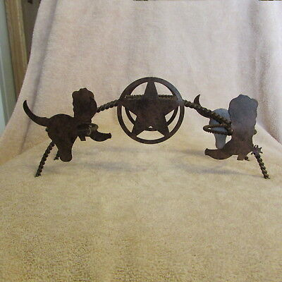 WESTERN THEMED VOTIVE CANDLE HOLDERS Metal Tealight Votive Candle Holder