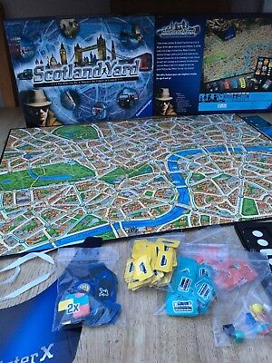 Ravensburger SCOTLAND YARD Board Game 2014 100% Complete Excellent Condition