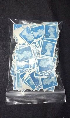 400 2nd Class Unfranked Security Stamps  Off Paper No Gum