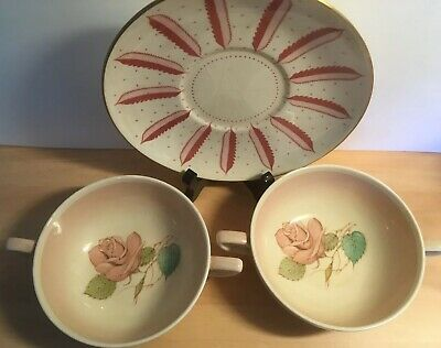 susie cooper bowls and saucer 1930s collectable vintage