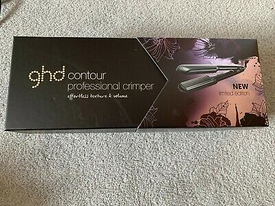 GHD Contour Professional Crimpers Limited Edition Nocturne Set New Boxed Unused
