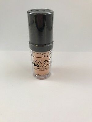 L.A. Girl Pro Coverage Long Wear Illuminating Foundation GLM643 Porcelain