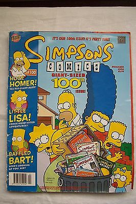 Simpsons Comics Giant-Sized 100Th Issue December 2004