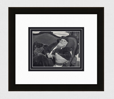 "LOOK 1930s BRASSAI Vintage Photogravure ""Maillol on the Sofa"" GALLERY FRAMED COA"