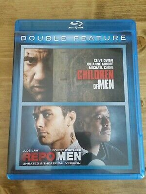 CHILDREN OF MEN/REPO MEN USED - VERY Blu-ray  (Double Feature)