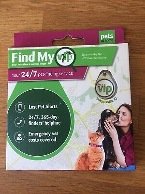 Find my pet VIP Pets At Home