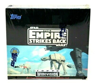 Star Wars Empire Strikes Back Widescreen Factory Sealed Box Topps Trading Cards