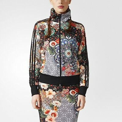adidas flower track top