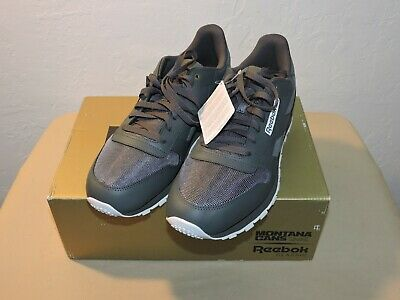 dcdaccda72d Reebok Classic Grey Leather Montana Cans Limited Edition Casual Shoes Men s  12