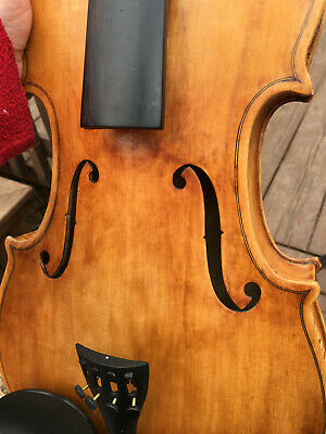 "Vintage 15.5"" Viola, No Label"