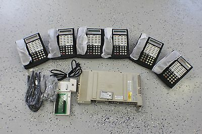 Avaya Lucent Partner ACS Business Phone System 6 Phones Refurbished