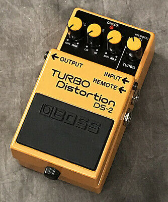 BOSS DS-2 Turbo Distortion Guitar Effect Pedal 1 Free Shipping
