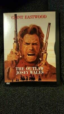 The Outlaw Josey Wales (DVD, 1999) Clint Eastwood Western