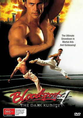 Bloodsport 4 DVD The Dark Kumite New Sealed Australia All Regions