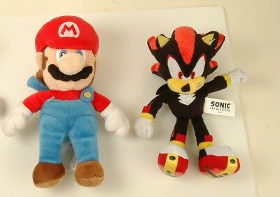 Sonic The Hedgehog 75 Plush Shadow Authentic Jazwares And Super