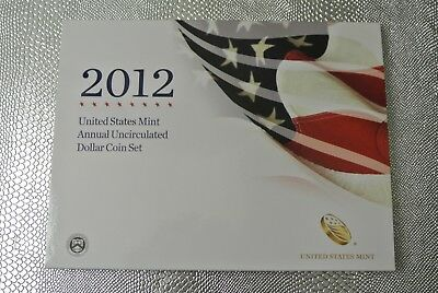 2012-W 6-Coin U.S. Mint Annual Uncirculated Dollar Set