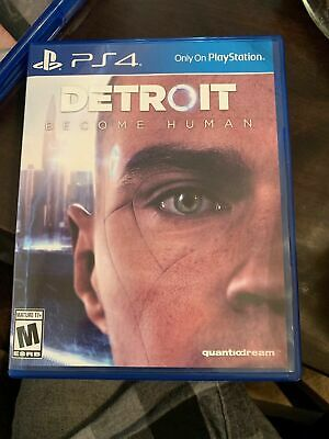 DETROIT Become Human (PS4 Sony Playstation 4) Used