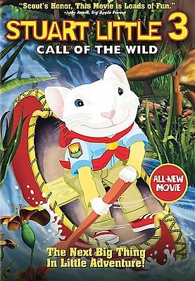 Stuart Little 3 Call Of The Wild (2006) Special Edition Dvd Brand New Sealed