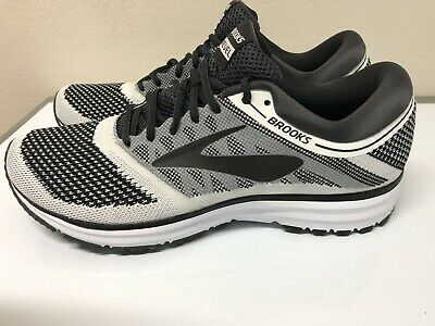 aad51fd024d New Brooks Men s Revel Performance Running Size 11.5 White Anthracite Black