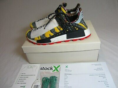 324ab755efc39 Adidas HU NMD Pharrell Human Race Solar Pack Red BB9527 With Receipt US Size  12