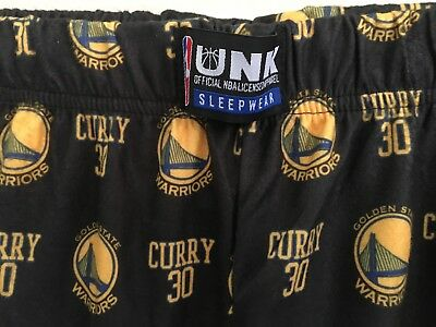 69d4187d6fc NWT XL Steph Curry 30 Golden State Warriors NBA Pajama Pants Lounge  Basketball