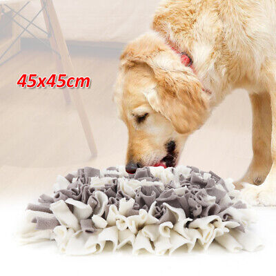 Dog Nose Sniffing Mat Pet Pressure Relieving Treat Snuffle Mat Fun Toy 45X45CM