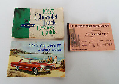 1963 chevy truck owners manual pdf