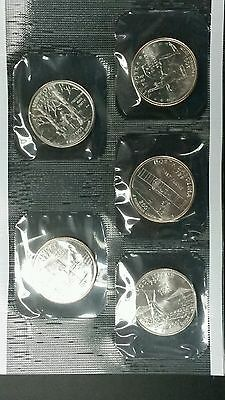 2001-P Uncirculated U.S. Mint Coin Set, 10-Coins, 2-Sealed Soft Packs