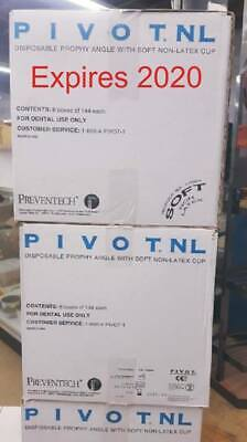 Preventech 1100045 Pivot Disposable Prophy Angle with Non-Latex Soft Cup
