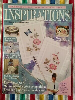 Inspirations Embroidery Magazine - Issue 30 - 2001 - Excellent Condition